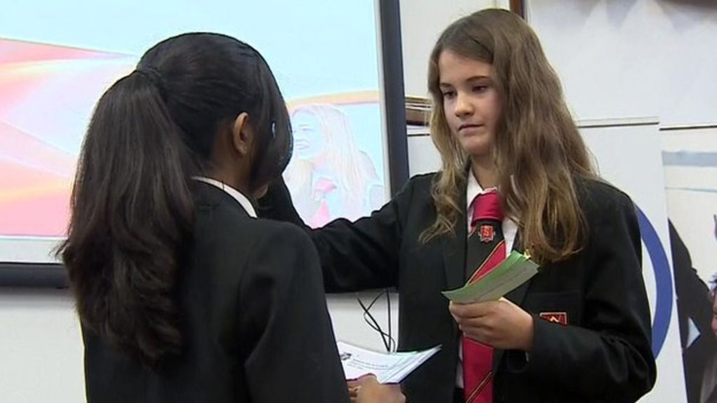 bfaaa453106 Pupils make radio call to Tim Peake